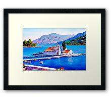Tranquil Island Framed Print