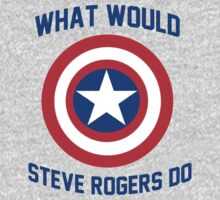 What Would Steve Rogers Do? by Connie Yu