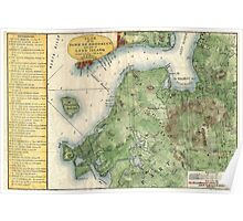 Vintage Map of Brooklyn New York (1867) Poster