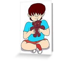 Beautiful Babies and Mental Teddies 3 Greeting Card