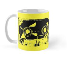 Yellow Retro Cassette Tape Mug
