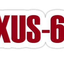 BLADE RUNNER NEXUS 6 REPLICANT Sticker