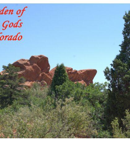 Garden of the Gods #18 Sticker