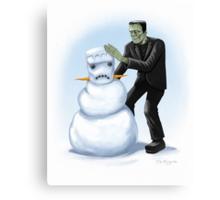 Frankenstein's Monster's Monster Canvas Print