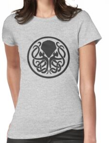 Lovecraft  Cthulhu Womens Fitted T-Shirt