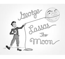 George Lassos the Moon Photographic Print