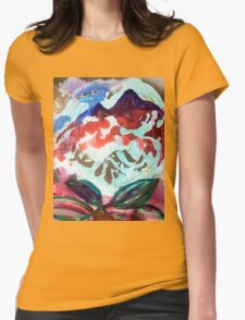 For purple mountain majesties Womens Fitted T-Shirt