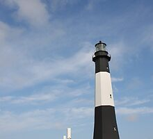 Tybee Island Lighthouse  by Kent Nickell
