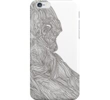 The Quiet Gorilla iPhone Case/Skin
