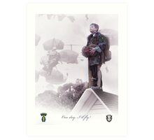 Special Forces- One day I will fly Art Print