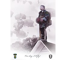 Special Forces- One day I will fly Photographic Print