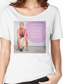 Consistency Over Time Women's Relaxed Fit T-Shirt