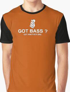 Got Bass white Graphic T-Shirt