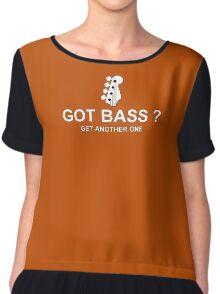 Got Bass white Chiffon Top