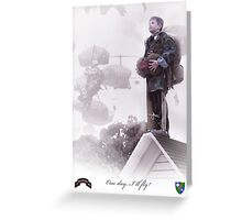 Airborne Ranger- One day I will fly Greeting Card