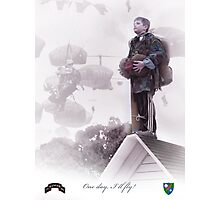 Airborne Ranger- One day I will fly Photographic Print