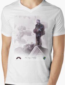 Airborne Ranger- One day I will fly Mens V-Neck T-Shirt
