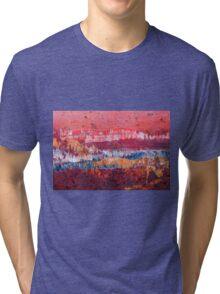 Hillside Sunset  Tri-blend T-Shirt