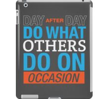 Day After Day iPad Case/Skin