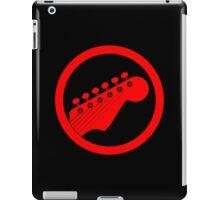 Red guitar iPad Case/Skin