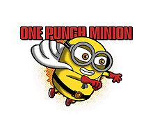 minion one punch Photographic Print