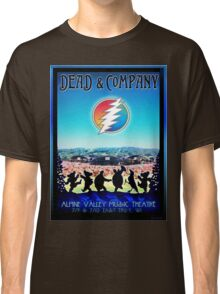 DEAD AND COMPANY SUMMER TOUR 2016 ALPINE VALLEY MUSIC THEATRE-EAST TROY,WI Classic T-Shirt