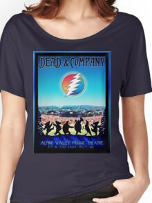 DEAD AND COMPANY SUMMER TOUR 2016 ALPINE VALLEY MUSIC THEATRE-EAST TROY,WI Women's Relaxed Fit T-Shirt