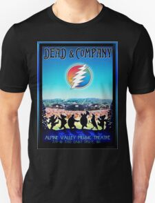 DEAD AND COMPANY SUMMER TOUR 2016 ALPINE VALLEY MUSIC THEATRE-EAST TROY,WI Unisex T-Shirt