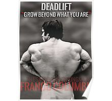 Deadlift - Grow Beyond What You Are Poster