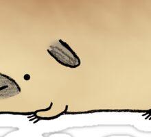 Pugloaf Sticker