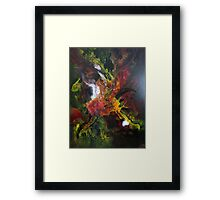 Incredible Abstract Orchid Framed Print