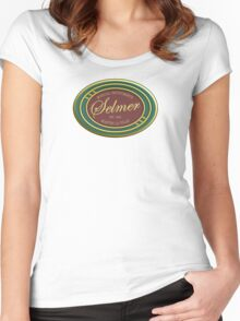 Vintage selmer Women's Fitted Scoop T-Shirt