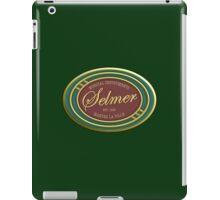 Vintage selmer iPad Case/Skin