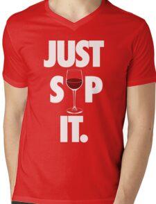 JUST SIP IT. Mens V-Neck T-Shirt