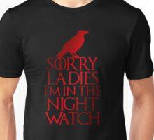 Sorry Ladies Unisex T-Shirt
