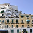 Buildings in Amalfi, Italy by avresa