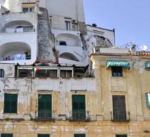 Buildings in Amalfi, Italy Sticker