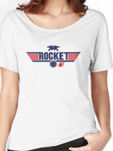 Galaxy Gun - Rocket Women's Relaxed Fit T-Shirt