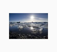 Melting ice in Jokulsarlon glacier lagoon, Iceland Unisex T-Shirt