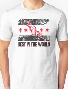 CM Punk Best in the World T Shirt Unisex T-Shirt