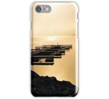 A Pier in the Morning Light - Prints, Cases, Pillows and More iPhone Case/Skin