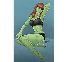 Stitched - Retro Monster Pinup Photographic Print