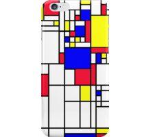 LARGE MONDRIAN iPhone Case/Skin