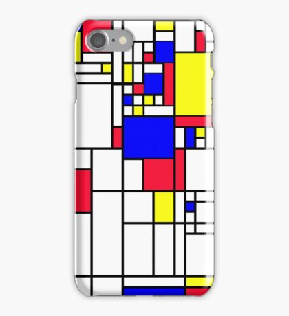 LARGE MONDRIAN iPhone Case/Skin