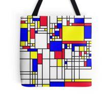 LARGE MONDRIAN Tote Bag