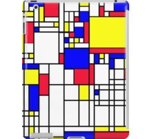 LARGE MONDRIAN iPad Case/Skin