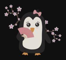 Japanese Penguin   One Piece - Long Sleeve