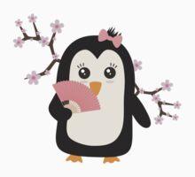 Japanese Penguin   Baby Tee