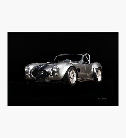 1966 Shelby Cobra 'Raiders' Roadster Photographic Print