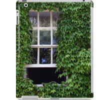 Window on leafy Cotswolds house facade, UK iPad Case/Skin